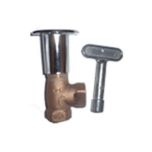 Key Valve w/elbow