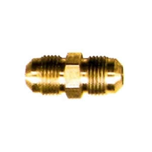 Male Flare x Male Flare Brass Coupler